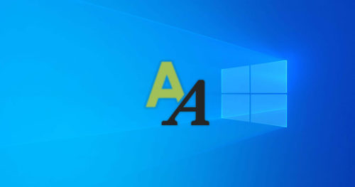 How to Enable or Disable Font Smoothing in Windows