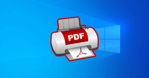 How to Enable or Disable Microsoft Print to PDF in Windows 10