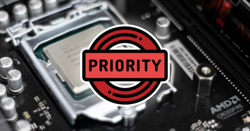 How to Set CPU Process Priority for Applications in Windows 10