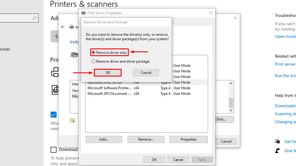Add or Remove Microsoft Print to PDF feature in Settings