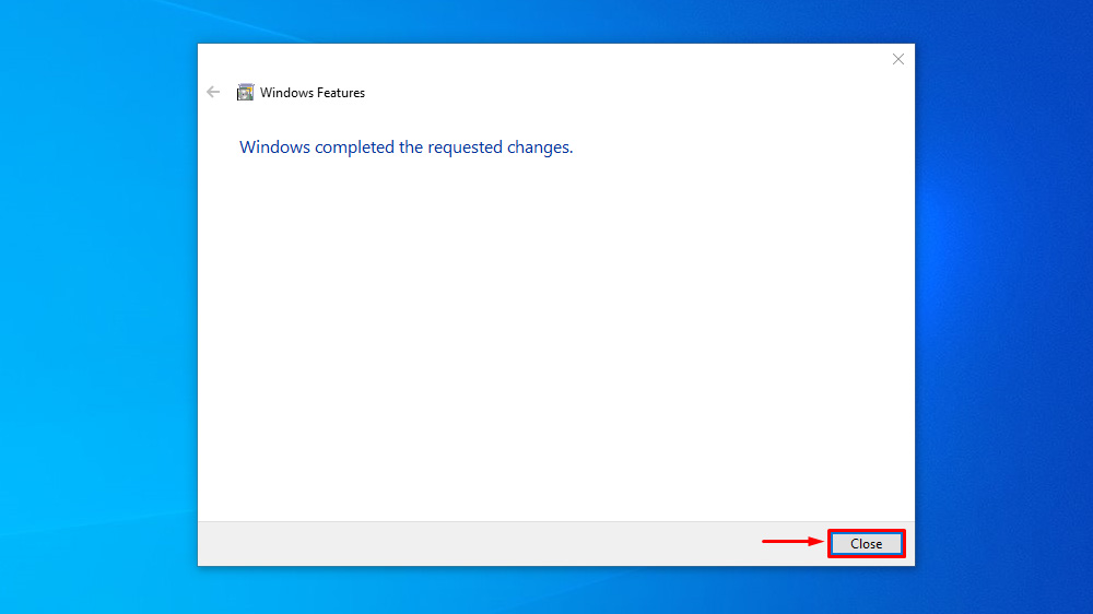 Turn On or Off Microsoft Print to PDF using Windows Features